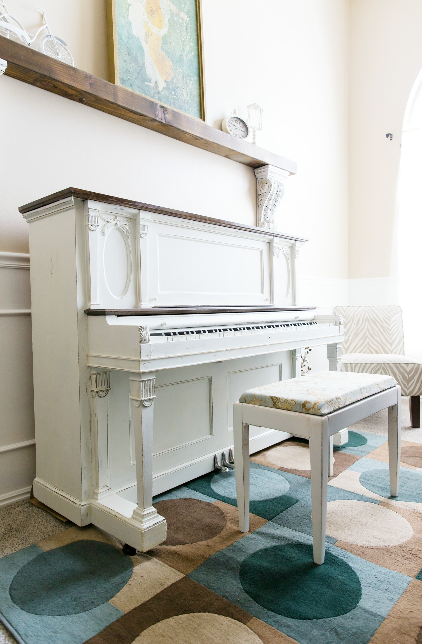 How to Paint a Piano by U Create
