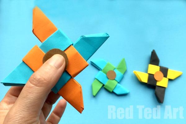 Origami Fidget Spinner Tutorial