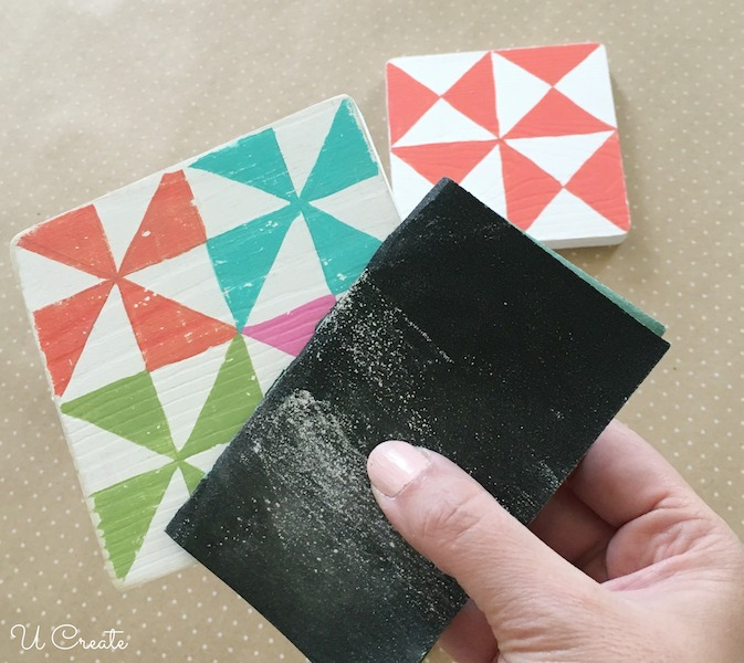 How to Make Quilt Block Coasters