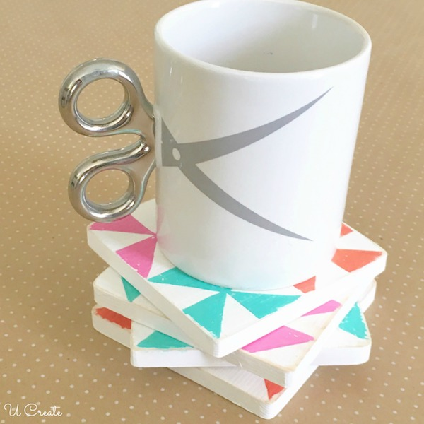 How to Make Wood Quilt Block Coasters
