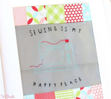 Sewing is My Happy Place free pattern by U Create
