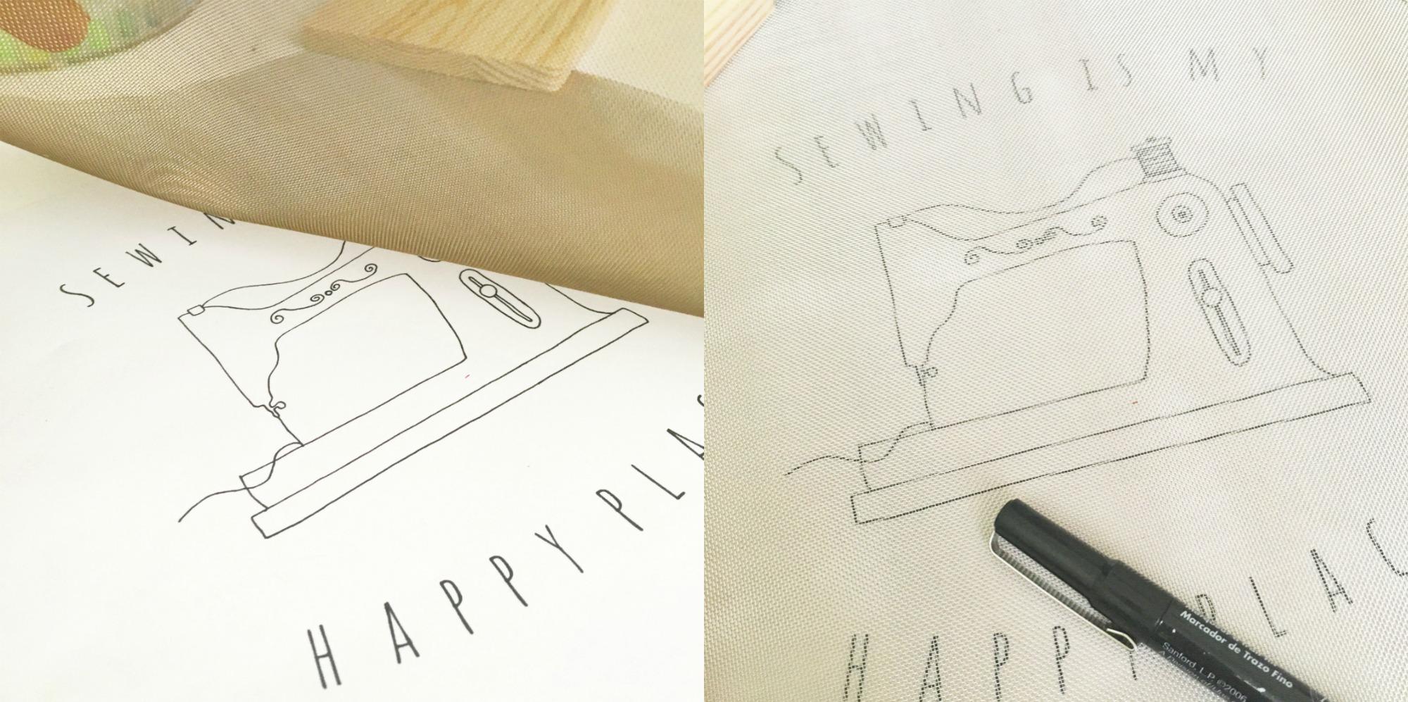 Sewing Machine stitching pattern by U Create