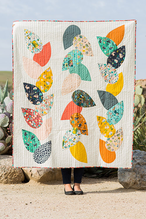 Tons of free modern quilt patterns!