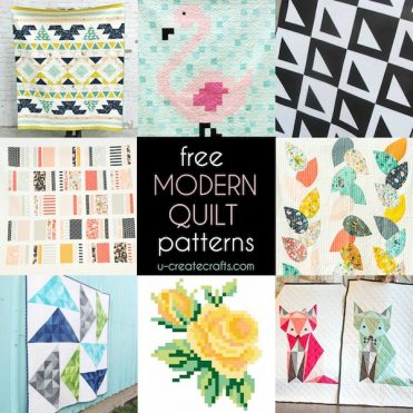 Tons of FREE Modern Quilt Tutorials at U Create