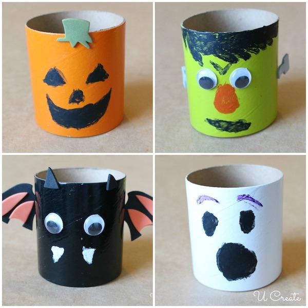DIY Halloween Craft Tubes