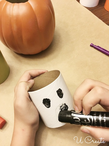 Halloween Craft Tubes for Kids