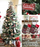 """""""A Country Christmas"""" Tree"""