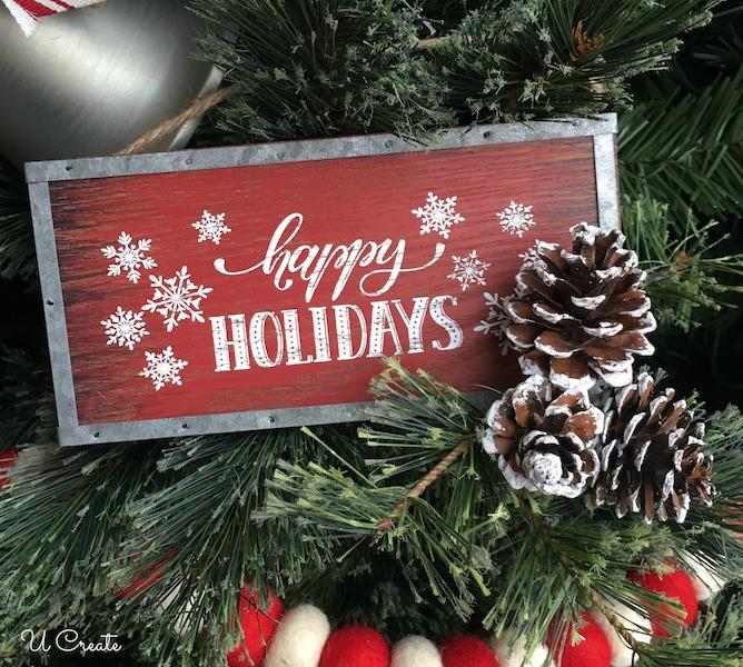 A Country Christmas Tree by U Create
