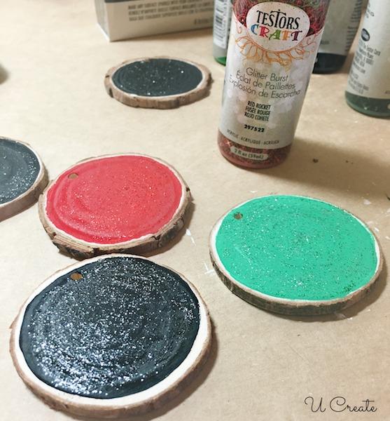 Wood Slice Paint
