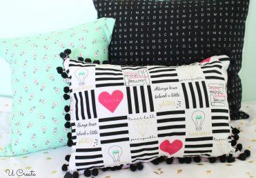 Shine Bright Fabric Pillows