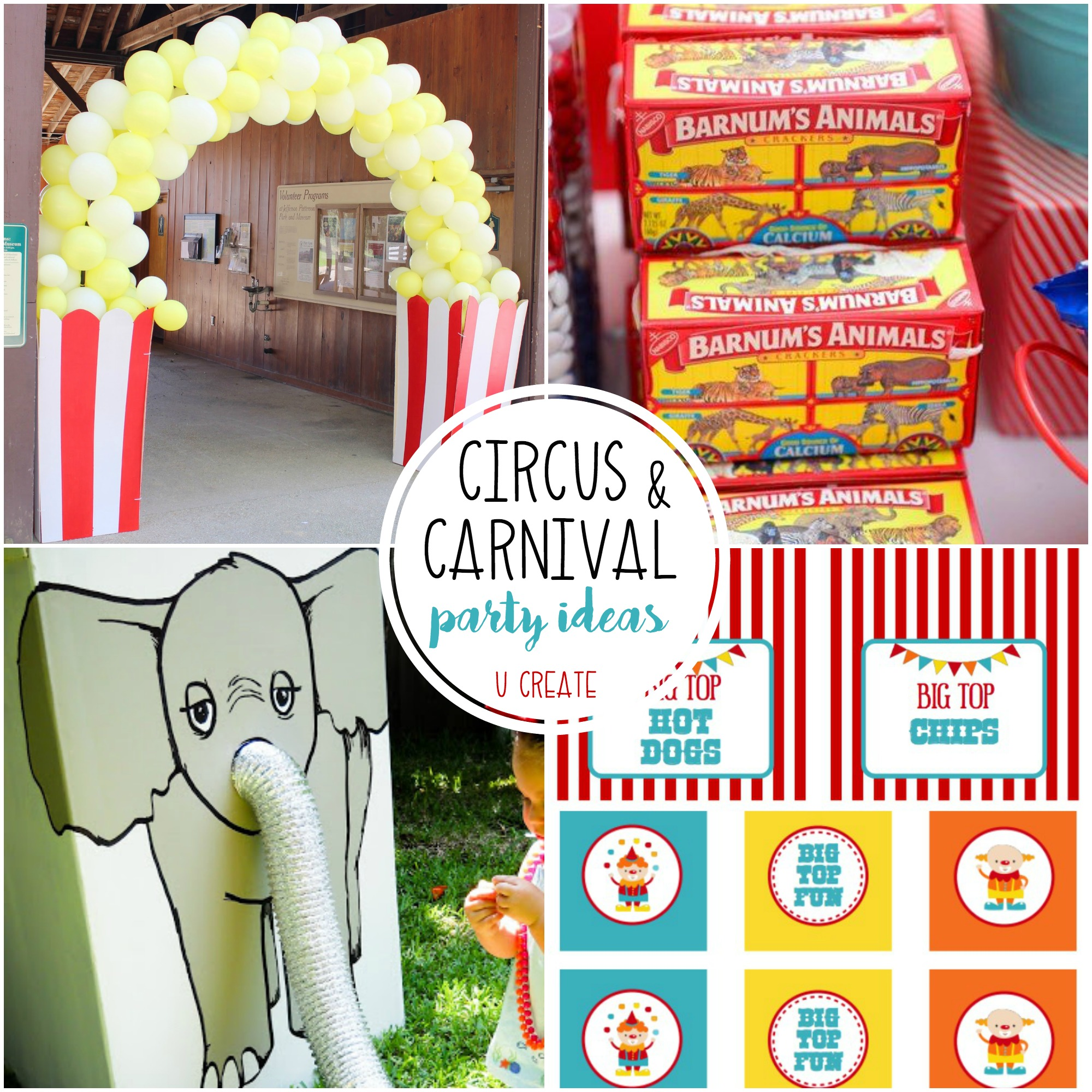 circuscarnival party ideas great for the greatest showman parties too