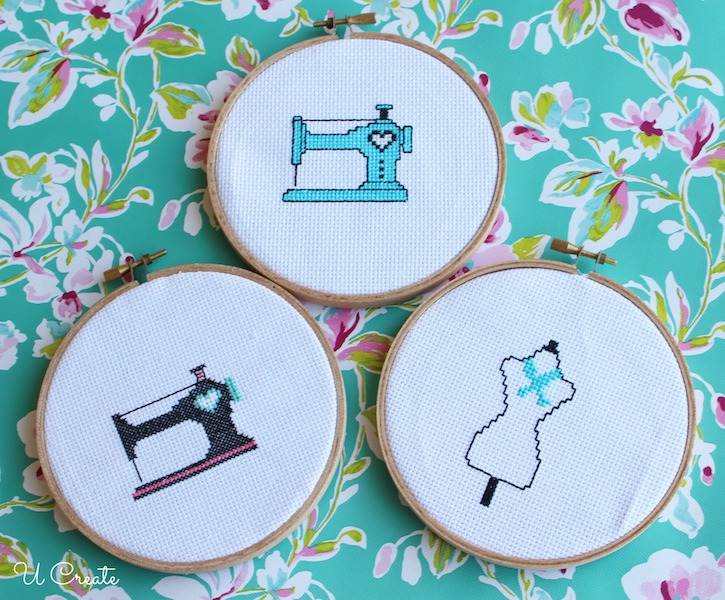 Free Sewing Machine Cross Stitch Patterns