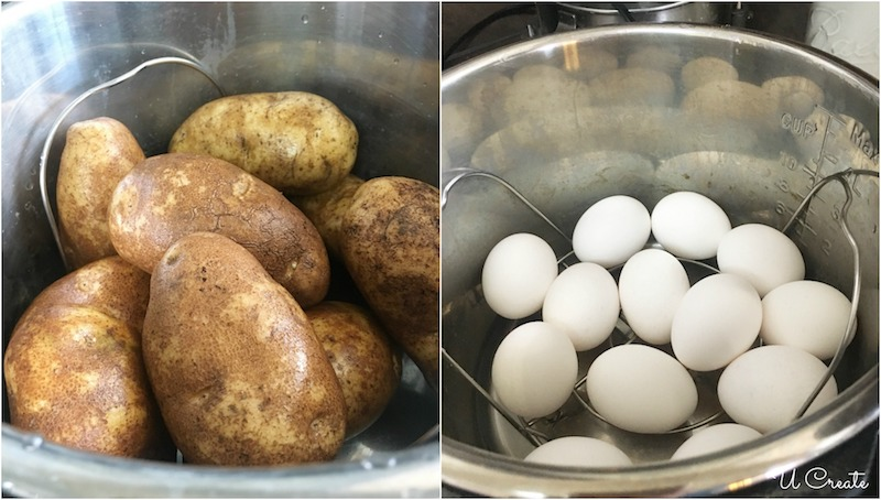 How to Make Instant Pot Potato Salad