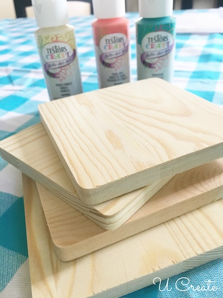 How to Make Wooden Quilt Coasters