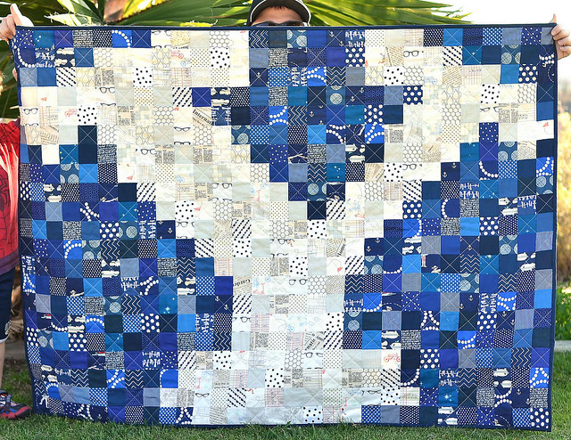 Collegiate Pixel Quilt Tutorial and many other pixel quilts!