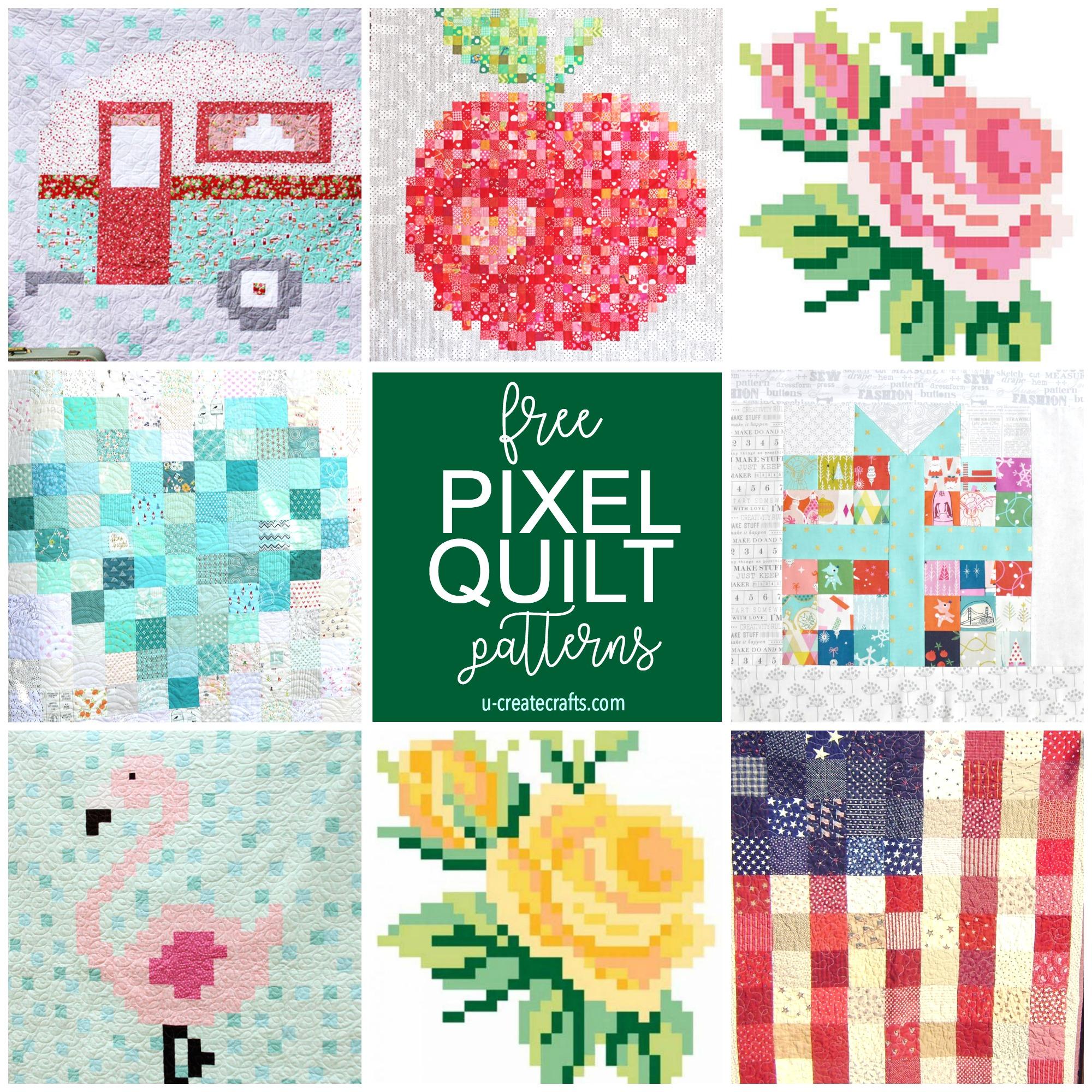 Free Pixel Quilt Patterns