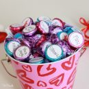 Personalized Hershey Kisses for Valentine's Day - Reasons Why I Love You