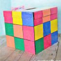 How to Make a Rubiks Cube Valentine Box