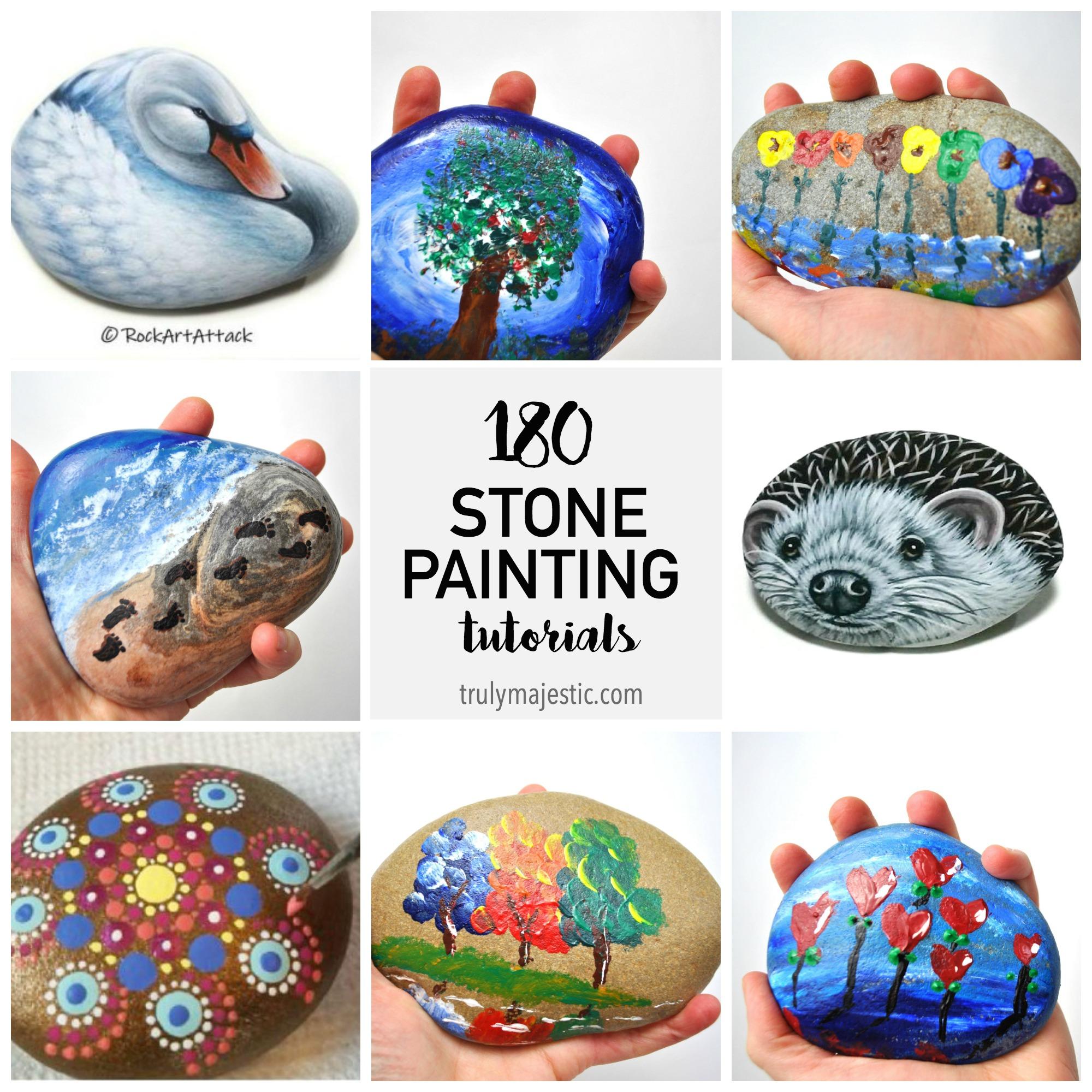 Stone Painting Tutorials