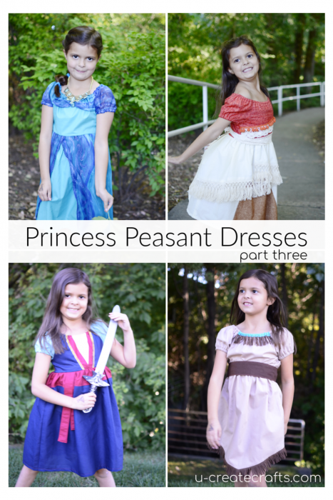 TONS of Princess Peasant dresses using one pattern!