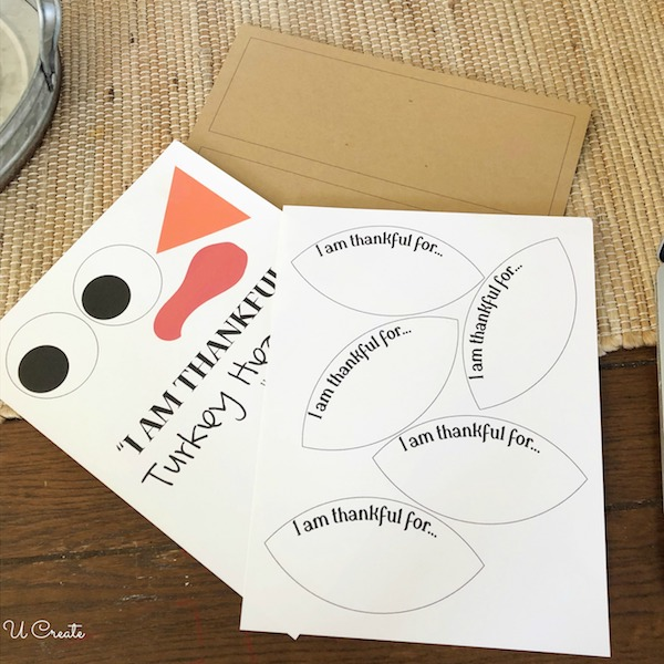 Free Printable Turkey Headband for Thanksgiving