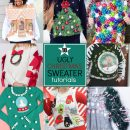 10 Ugly Christmas Sweater Tutorials