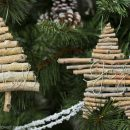 How to Make Twig Christmas Ornaments