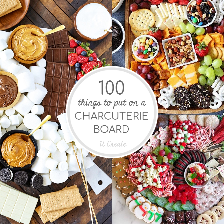100 Things to Put on a Charcuterie Board