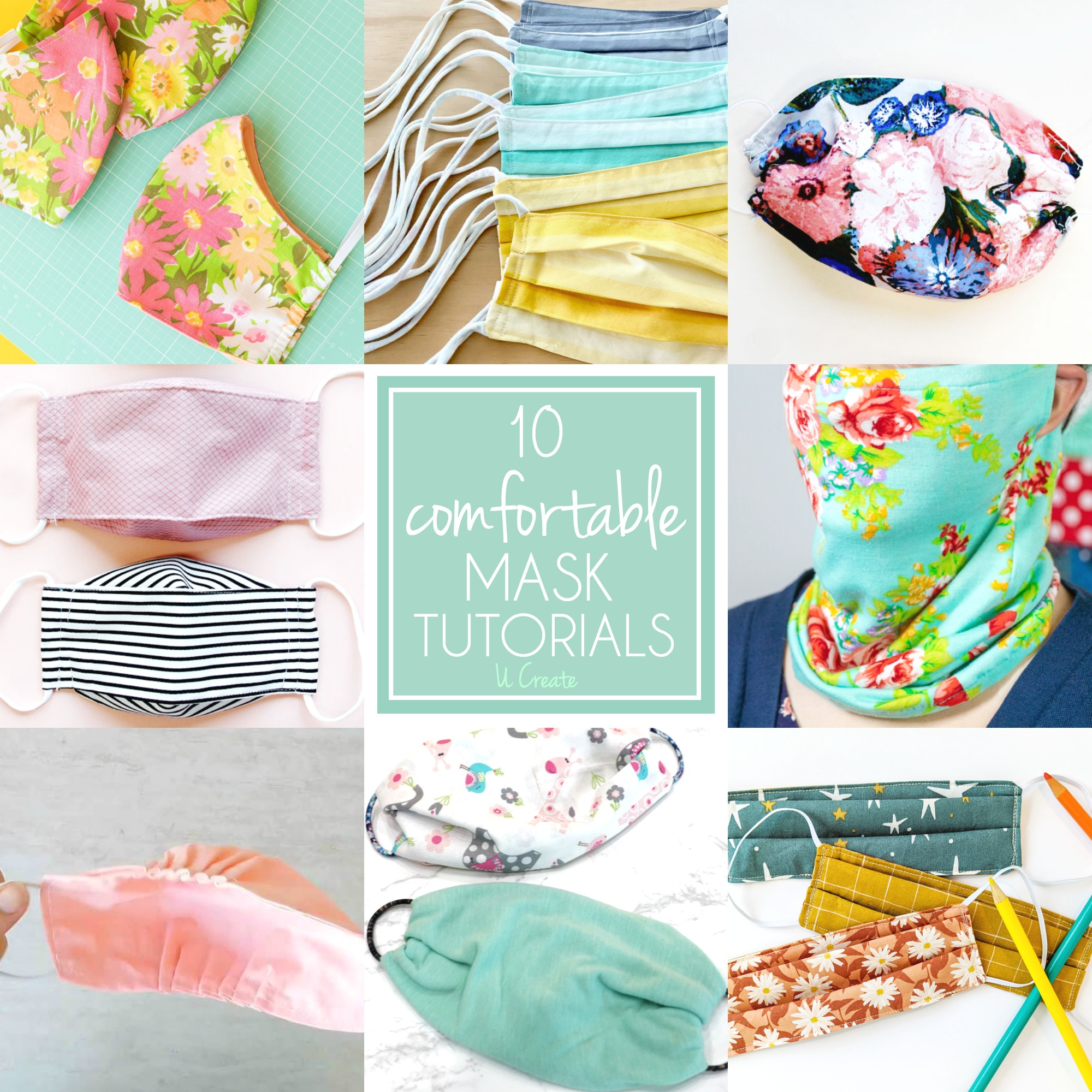 10 Comfortable Mask Tutorials