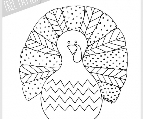 Free Pattern Fall Turkey By U Create